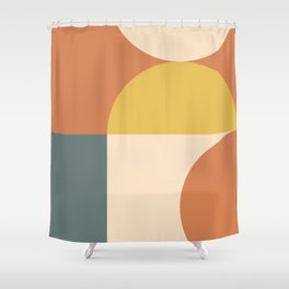Abstract Geometric 04 Shower Curtain