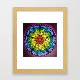 The Pentagram / Pentagramm Framed Art Print