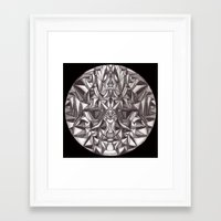 cheshire cat Framed Art Prints featuring Cheshire by IRIS Photo & Design