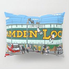 Bunnies in London Camden Lock Pillow Sham