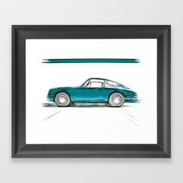 Porsche 911 / V Framed Art Print