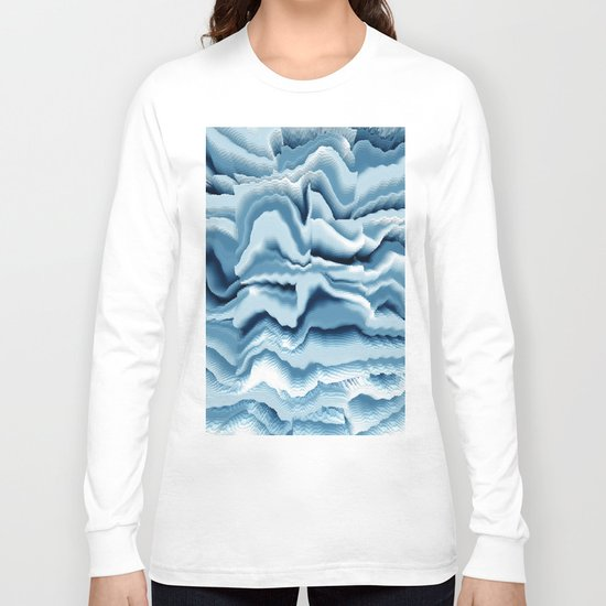 Abstract 143 Long Sleeve T-shirt