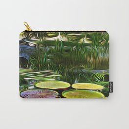Greenery Pond Carry-All Pouch