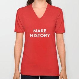 Make History Unisex V-Neck