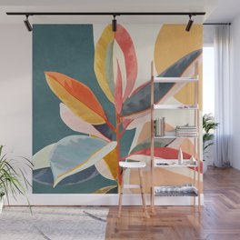 Colorful Branching Out 01 Wall Mural