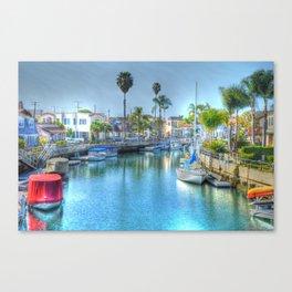 Canals Canvas Print