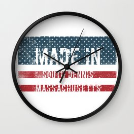 Made in South Dennis, Massachusetts Wall Clock