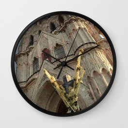 Church of San MIguel de allende II Wall Clock