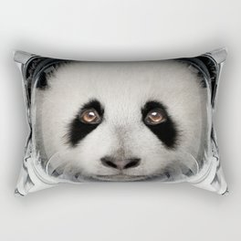 Panda Astro Bear Rectangular Pillow