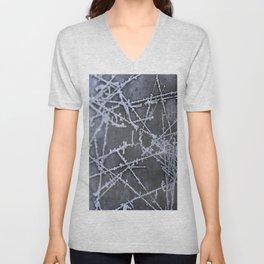 Texture #8 Ice Unisex V-Neck