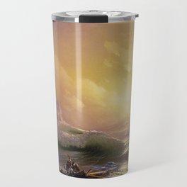 The Ninth Wave - Aivazovsky Travel Mug