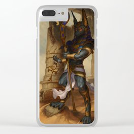 Lord of The Underworld Clear iPhone Case