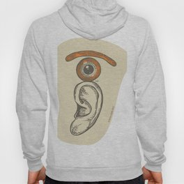 the eye over the ear Hoody