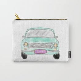 My new car  - digital watercolor car art Carry-All Pouch