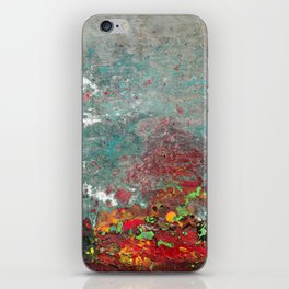 Abstract Distressed #3 iPhone Skin