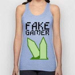 Fake Gamer Unisex Tank Top