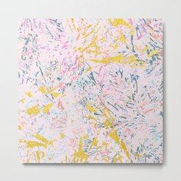 Pine Leaves - abstract pattern Metal Print