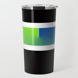 Team Colors 3...blue,green Travel Mug