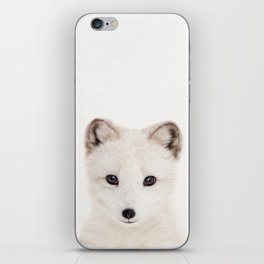 Baby Fox, Baby Animals Art Print By Synplus iPhone Skin