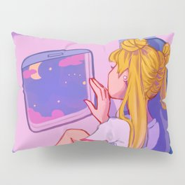 """Getaway"" Sailor Moon Pillow Sham"