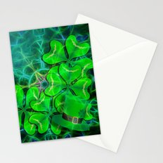 clover and kaleidoscope Stationery Cards