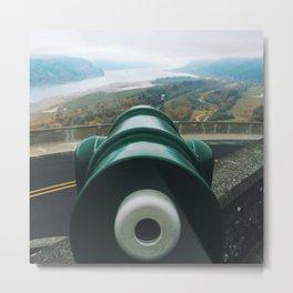 Columbia River Gorge   Vista House at Crown Point, Oregon Metal Print