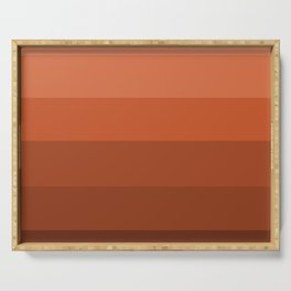 Earth Brown Shades - Color Therapy Serving Tray