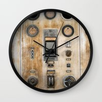 nemo Wall Clocks featuring Captain Nemo by InogitnaDesigns
