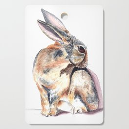 Cottontail Rabbit Cutting Board
