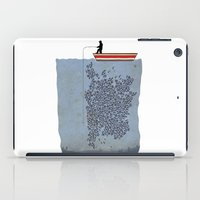 gladiator iPad Cases featuring FISH by karakalemustadi