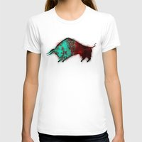 bull T-shirts featuring Bull by ewdondoxja