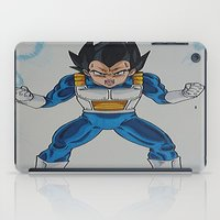 vegeta iPad Cases featuring Prince Vegeta by bmeow