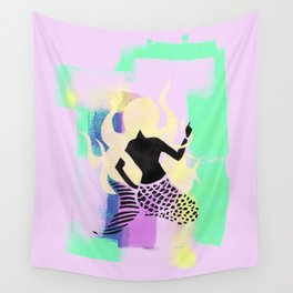 Free Mermaid Wall Tapestry
