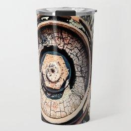 The Rusted Wheel Travel Mug