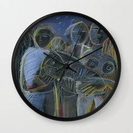 Birth of Adam Wall Clock