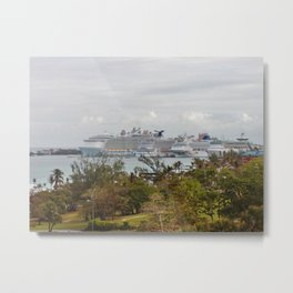 Four Cruise Ships Metal Print