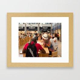MERCADO DA RIBEIRA Framed Art Print