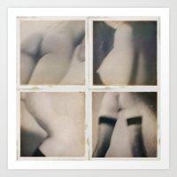 erotic Art Prints featuring Erotic seduction by Jean-François Dupuis