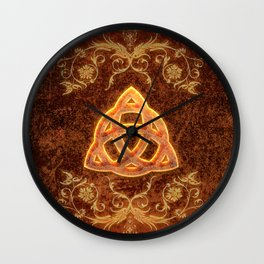 The celtic sign  Wall Clock