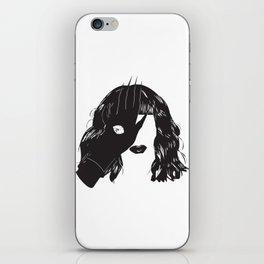 Yekaterina Petrovna Zamolodchikova Black&White iPhone Skin