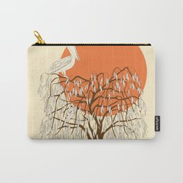 weeping willow, pelican and sun Carry-All Pouch