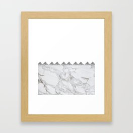 Adoring Grey Framed Art Print