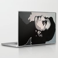 audrey Laptop & iPad Skins featuring Audrey by AUSKMe2Paint