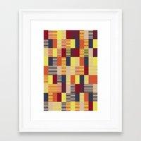 bauhaus Framed Art Prints featuring Bauhaus by ohkj