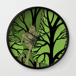 Hidden Protector Wall Clock
