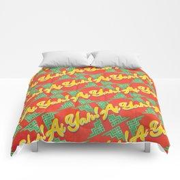 Ai Yah! Pattern Comforters