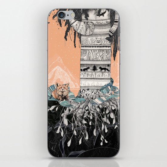 Fox Tree iPhone & iPod Skin