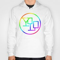 yolo Hoodies featuring Yolo  by Office Party