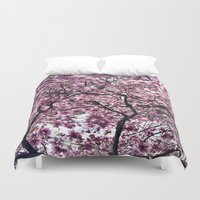 cherry Duvet Covers featuring Cherry by alicia kiah