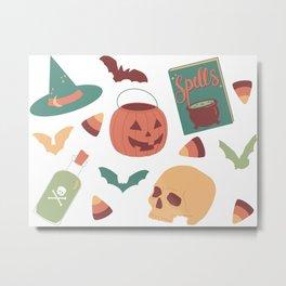 Spooky Season Metal Print